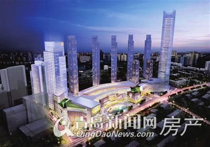 三大高端商业综合体计划2014年开业 青岛商业地产迎来