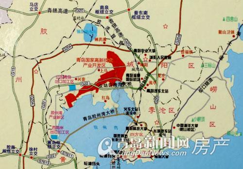 规划局长详解红岛新区新规划 2014旧村改造范围圈定